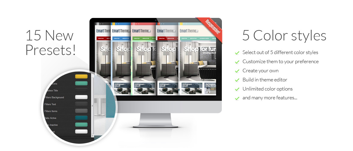 Emart CS-Cart Responsive Theme Color Styles